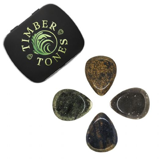 Rock Tones Mixed Tin of 4 Guitar Picks